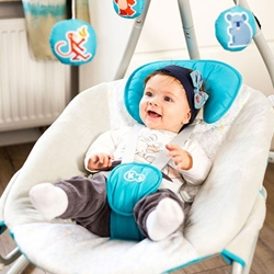 un balansoar pentru bebe foarte dragut