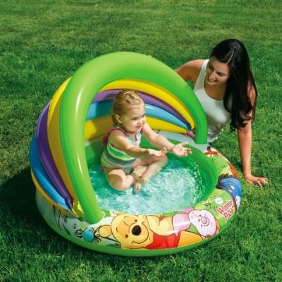 copiii isi doresc vara o piscina gonflabila