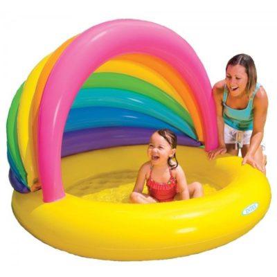 o piscina gonflabila copii este o bucurie pentru cei mici