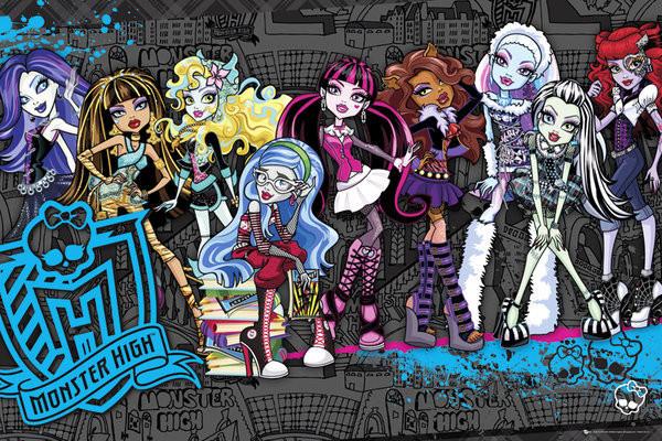 Papusi Monster High pentru micuta ta? Hai sa vedem ce e in top in 2018