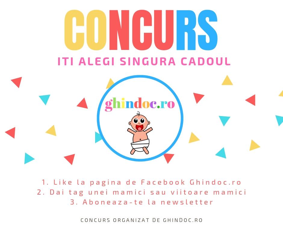 Primul Concurs Ghindoc.ro! Iti alegi singura premiul!