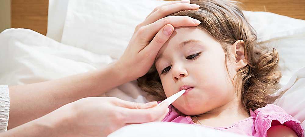 febra la copii cu varste de peste 3 ani. Remedii