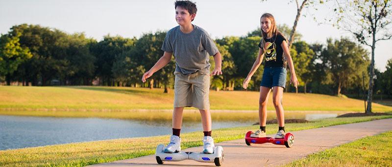 hoverboard-ul este un mijloc grozav de distractie