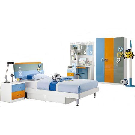 un dormitor pentru copii foarte dragut