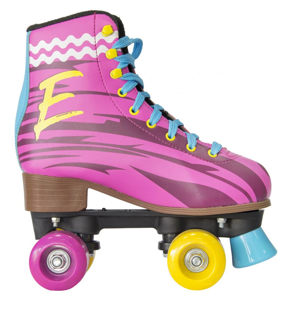 Patine cu rotile Emma Regular 33 Multicolor Kikka Boo ieftine