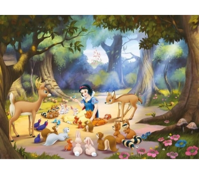 """Fototapet """"Alba ca Zapada"""" – colectia Disney de calitate"""