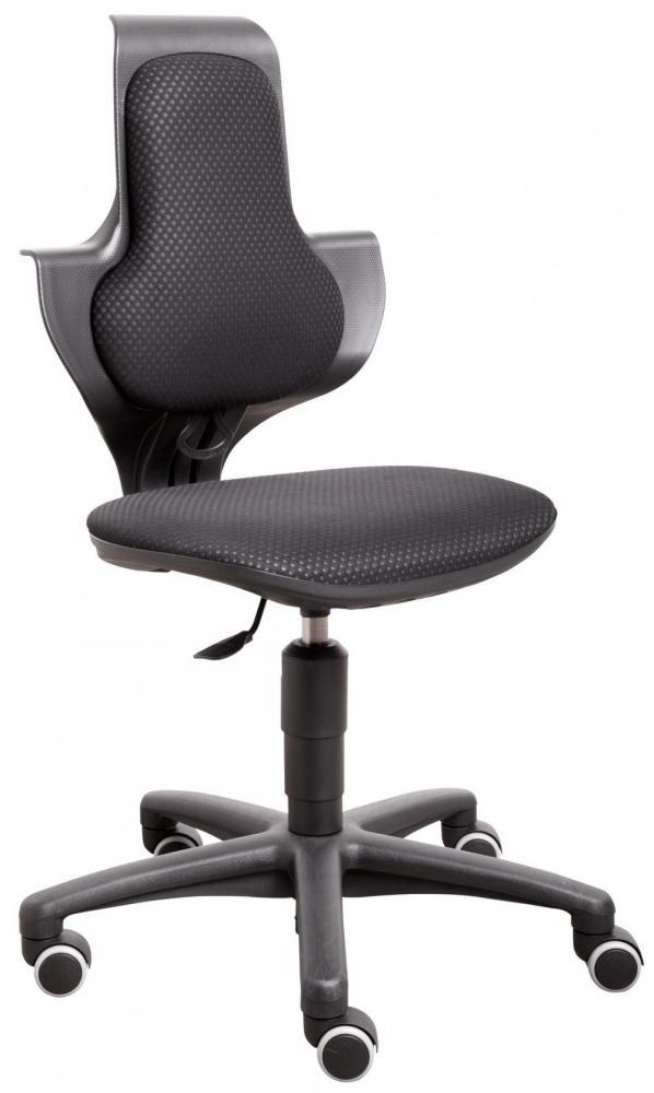 Scaunul ergonomic cu spatar inalt Flexa negru la pret bun