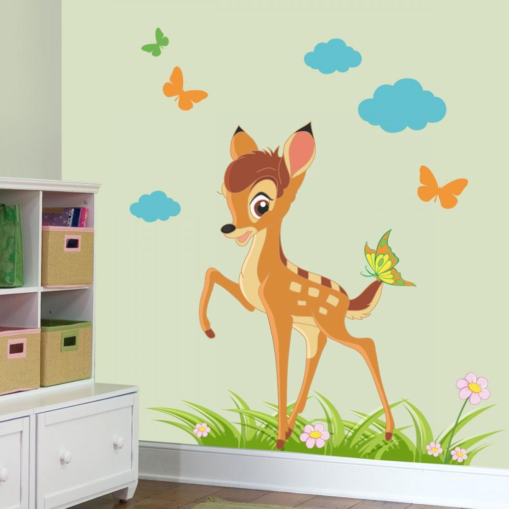 Stickere perete copii Tiparo cu Bambi 131 x 120 cm la pret excelent