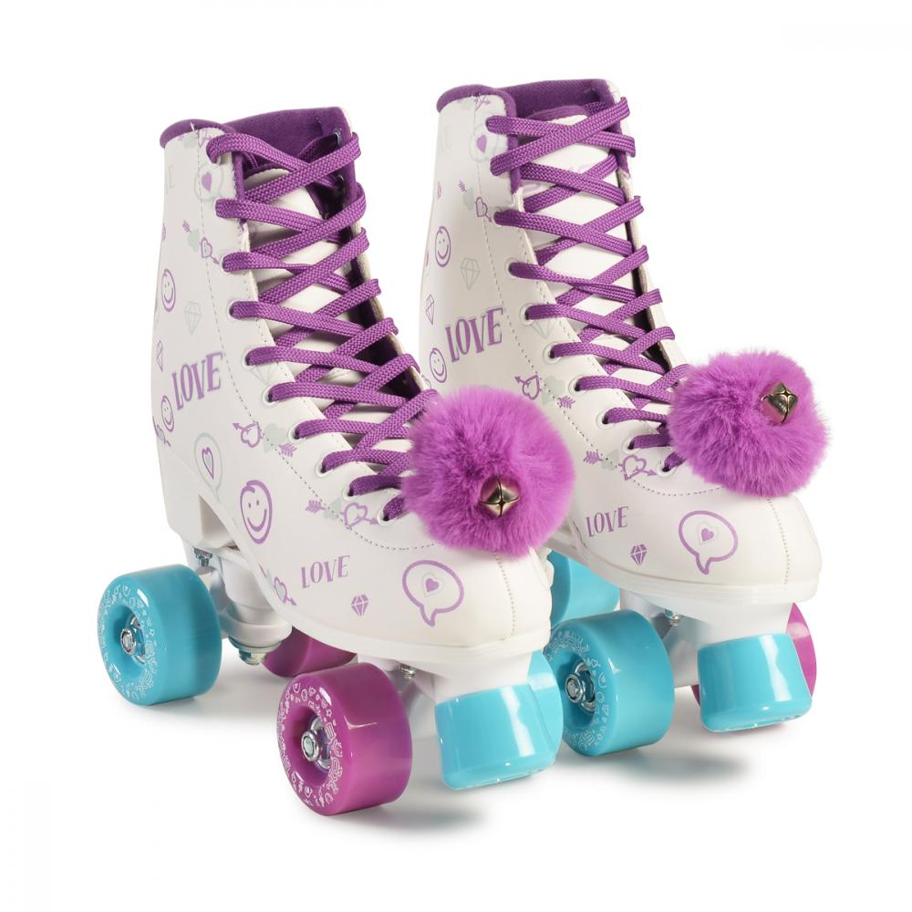 Patine cu rotile pentru fetite Love L 36-37 Byox Bikes la pret bun