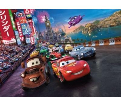 "Fototapet ""Raliul"" – colectia Disney la pret bun"