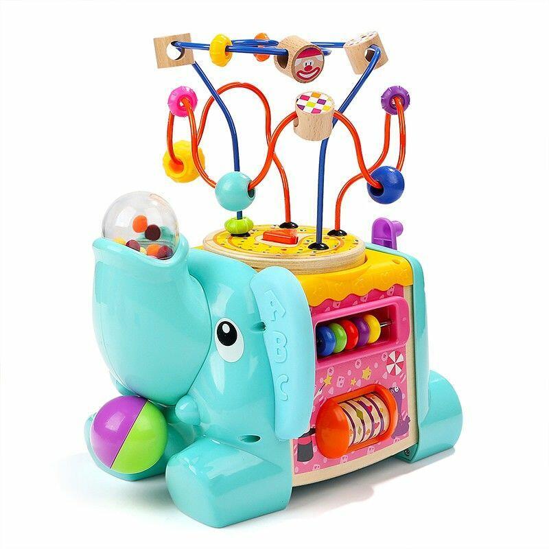 Jucarii educative pentru copii – Centru de Activitati 5 in 1 TopBright – Elefantel de calitate