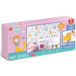 Pareri despre Kit Decor 56 Stickere pentru camera copiilor Sirene Walltastic
