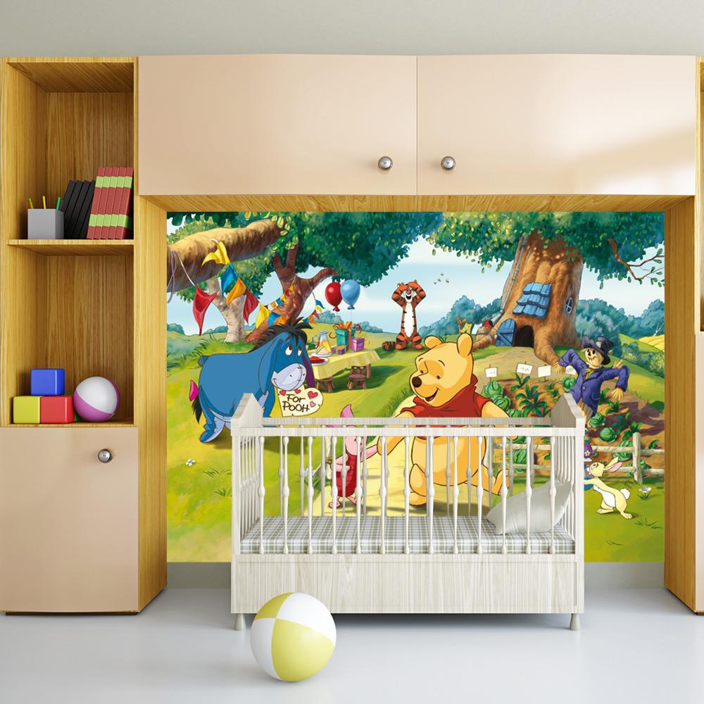 Tapet pentru copii de tip fototapet Winnie the Pooh la pret decent