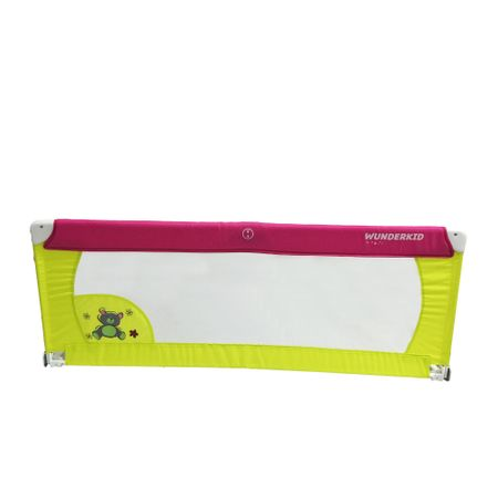 Bariera de protectie pentru pat, Wunderkid, Multicolor la pret bun