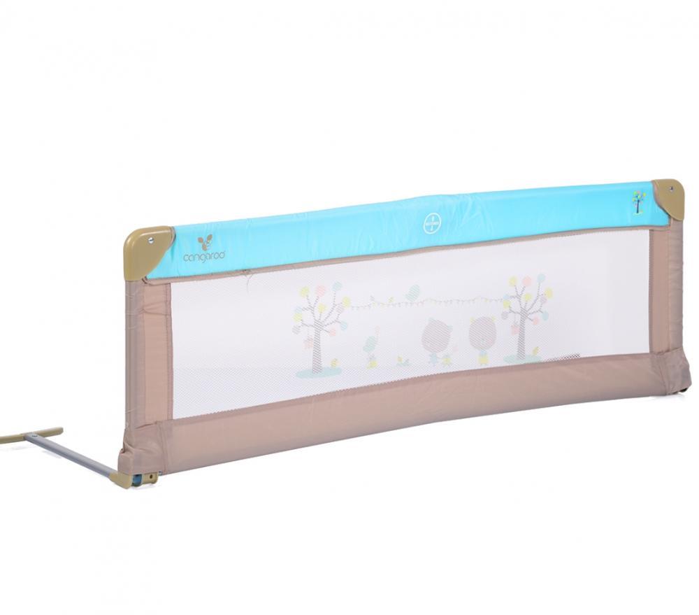Bariera de protectie pentru pat Bed Rail Cangaroo Turquoise ieftina