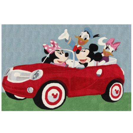 Covor pentru copii premium Cars Disney Mickey Mouse 133X190 cm la pret de nerefuzat!