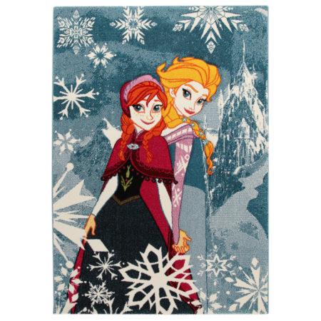 Covor premium Disney Frozen 133x190 cm ieftin!