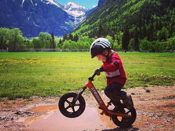 pentru a alege o bicicleta fara pedale, ai nevoie de urmatoarele informatii