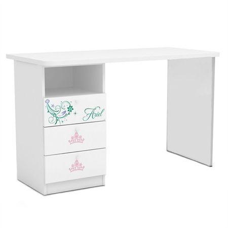 Marcoshop pune la dispozitie un birou pentru copii cu 3 sertare Ariel