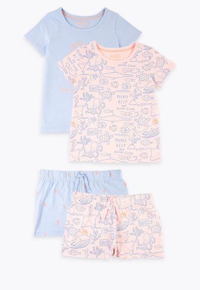 Descopera un set de pijamale copii de calitate de la Marks & Spencer