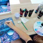 In oferta Double D Academy exista inclusiv cursuri de pictura si desen pentru copii