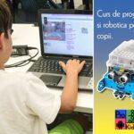 Copiii pot urma un curs de utilizare PC la Double D Academy