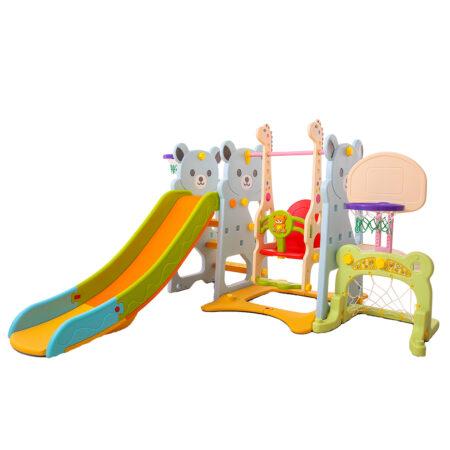 Descopera un spatiu de joaca pentru copii corespunzator pentru interior sau exterior.