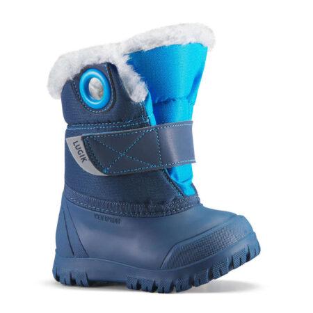 Nu poti pleca la sanius fara o pereche de cizme de zapada precum cele Xwarm din oferta de articole de iarna de la Decathlon.