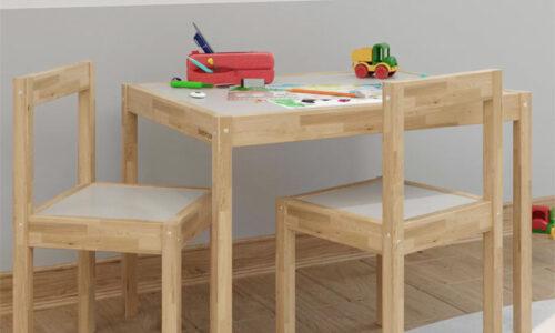 Achizitioneaza un set de masa cu scaune pentru copii de pe eMag sau Jumbo!