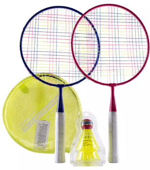 Setul de badminton BR Discover va face ca iesirile in natura cu familia sa fie distractive.